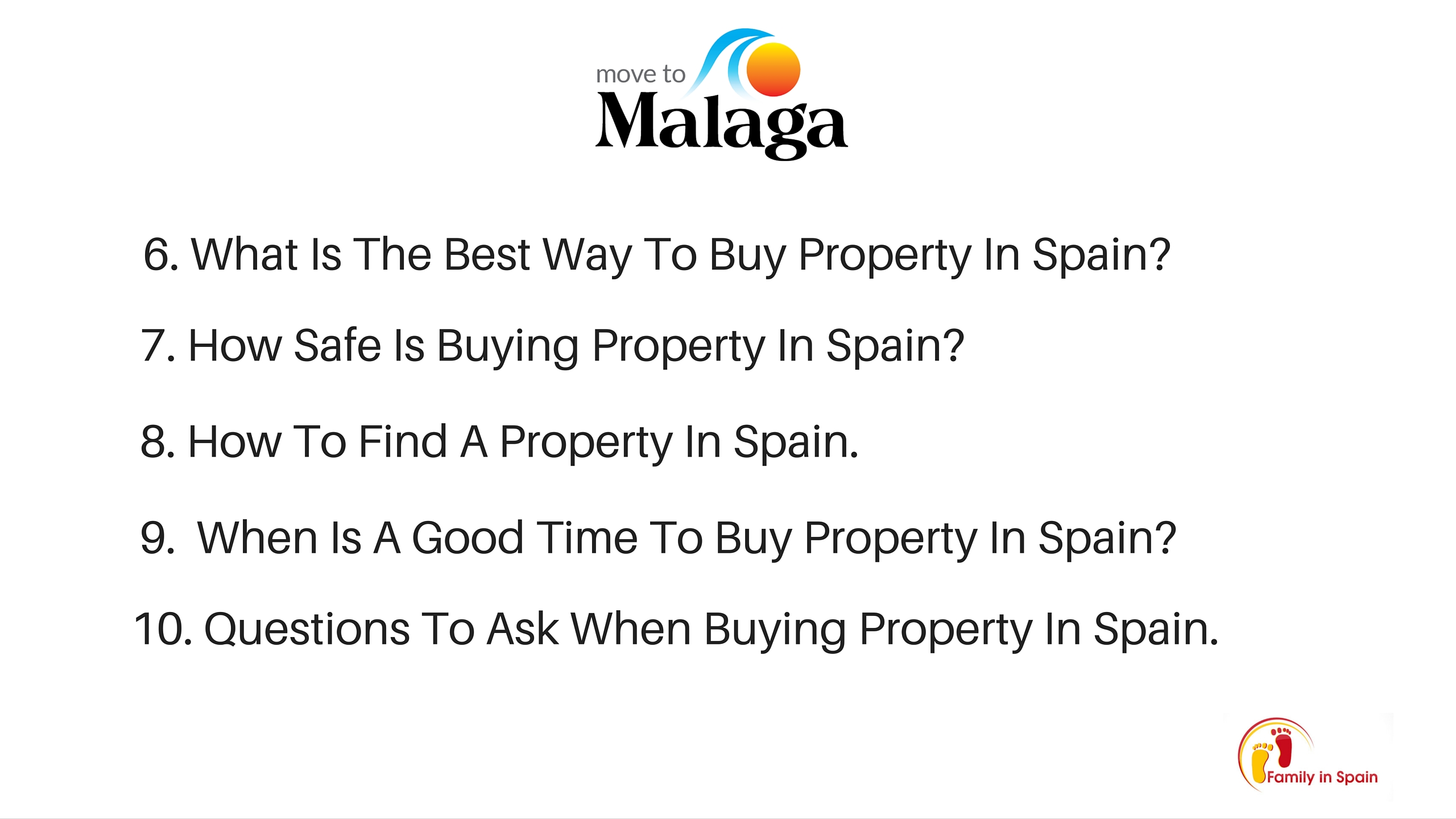 about buying property in spain