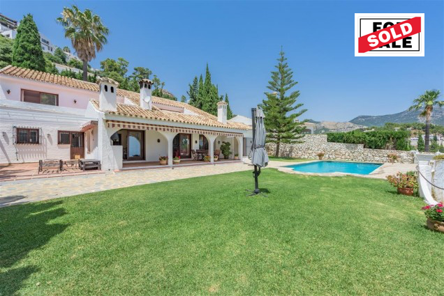 Mijas villa for sale