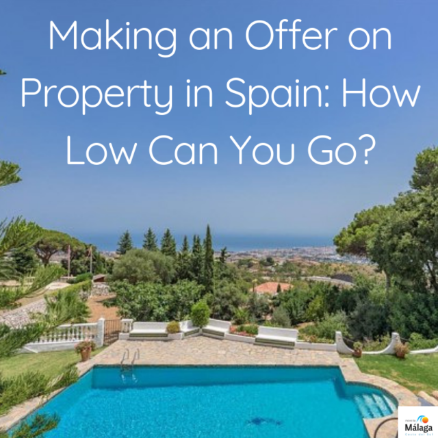 Making an offer on property in Spain